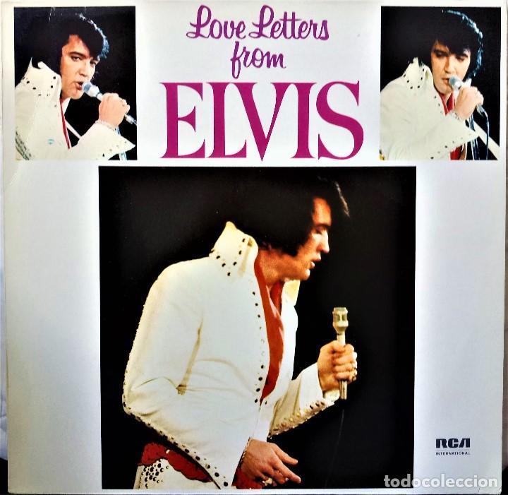 {ELVIS PRESLEY} LOVE LETTERS FROM ELVIS ? LP ? - - GERMANY / EX/EX (Música - Discos - LP Vinilo - Pop - Rock - Extranjero de los 70)