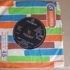 Discos de vinilo: CLIFF RICHARD - SWEET LITTLE JESUS BOY + ALL MY LOVE - SINGLE UK 1967 - COLUMBIA. Lote 121716855