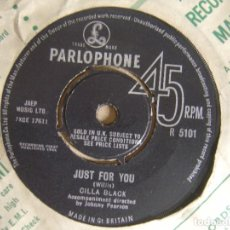 Discos de vinilo: CILLA BLACK - ANYONE WHO HAD A HERAT + JUST FOR YOU - SINGLE UK 1964 - PARLOPHONE. Lote 121722447