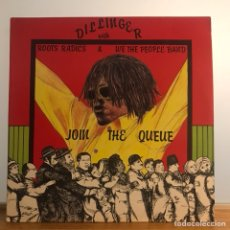 Discos de vinilo: JOIN THE QUEUE -DILLINGER....- ORIGINAL IMPECABLE UK1982. Lote 121728658