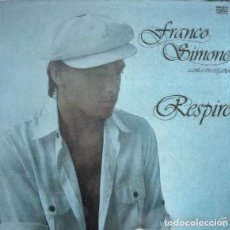 Discos de vinilo: FRANCO SIMONE – RESPIRO - LP SPAIN 1978. Lote 121733383