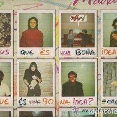 Discos de vinilo: LA MADAM. CREUS QUE ES UNA BONA IDEA - LP PDI SPAIN 1988. Lote 121734067