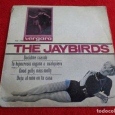 Discos de vinilo: EP THE JAYBIRDS : TELL ME WHEN Y 3 MÁS --- VERGARA 1964 --- CON CUÑO MUESTRA NO VENDIBLE. Lote 121737227