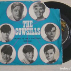 Discos de vinilo: THE COWSILLS - THE RAIN, THE PARK & OTHER THINGS + RIVER BLUE - SINGLE ESPAÑOL 1967 - MGM. Lote 121738891