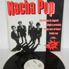 Discos de vinilo: NACHA POP - UNA DECIMA DE SEGUNDO - MAXI 5 TEMAS - DRO 1984 SPAIN - VINILO NUEVO. Lote 121739087