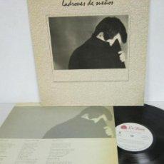 Discos de vinilo: LADRONES DE SUEÑOS - 1º LP - LA ROSA RECORDS 1986 SPAIN CON LETRAS - EXCELENTE. Lote 121739403