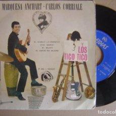 Discos de vinilo: LOS TICO TICO - EL DIABLO LO ENREDO - EP 1966 - FIDIAS. Lote 121740971