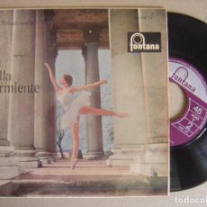 Discos de vinilo: P.I.TCHAIKOVSKY - LA BELLA DURMIENTE - SINGLE 1964 - FONTANA. Lote 121741591