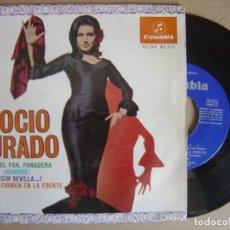 Discos de vinilo: ROCIO JURADO - OLIVA EL PAN PANADERA - EP 1967 - COLUMBIA. Lote 121742667