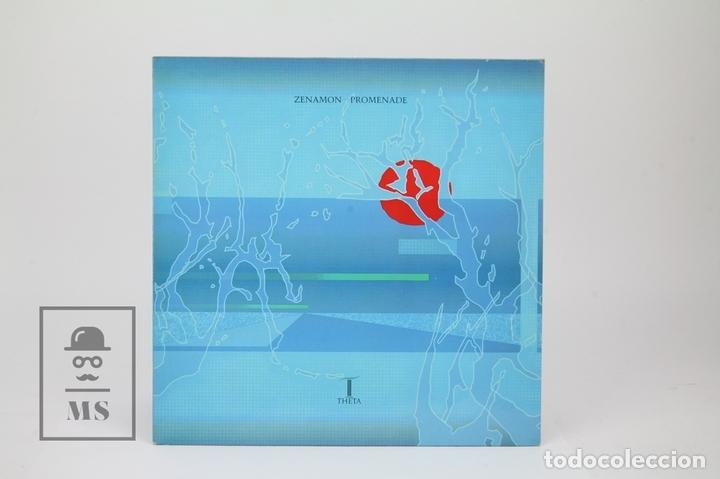 Discos de vinilo: Disco LP De Vinilo - Zenamon / Promenade - Theta , Año 1988 - Made In UK - Foto 2 - 121743434