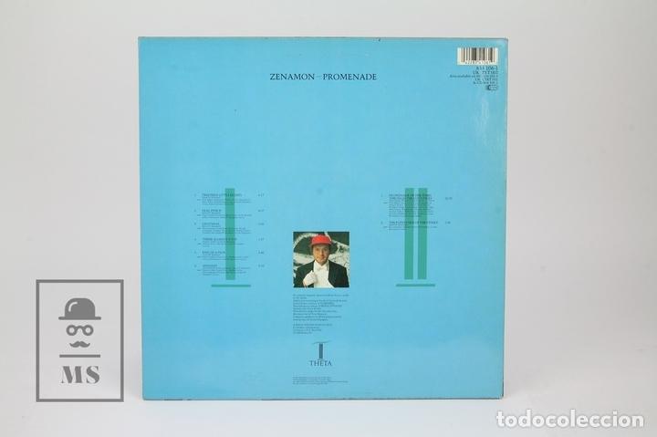 Discos de vinilo: Disco LP De Vinilo - Zenamon / Promenade - Theta , Año 1988 - Made In UK - Foto 3 - 121743434