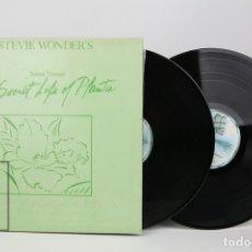 Discos de vinilo: DOBLE DISCO LP DE VINILO - STEVIE WONDER'S /THE SECRET LIFE OF PLANTS - MOTOWN , AÑO 1979. Lote 121743778