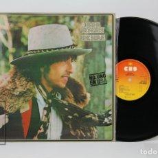 Discos de vinilo: DISCO LP DE VINILO - BOB DYLAN / DESIRE - CBS , AÑO 1976. Lote 121743923