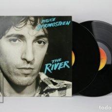 Discos de vinilo: DOBLE DISCO LP DE VINILO - BRUCE SPRINGSTEEN / THE RIVER - CBS, AÑO 1980. Lote 121744027