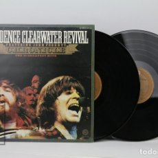 Discos de vinilo: DOBLE DISCO LP DE VINILO - CREEDENCE CLEARWATER REVIVAL / CHRONICLE 20 GREATEST HITS - FANTASY, 1983. Lote 121744202