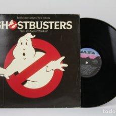 Discos de vinilo: DISCO LP DE VINILO - GHOSTBUSTERS / LOS CAZAFANTASMAS, BANDA SONORA ORIGINAL - ARISTA AÑO 1984. Lote 121744463