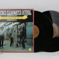 Discos de vinilo: DOBLE DISCO LP DE VINILO - CREEDENCE CLEARWATER REVIVAL / CHRONICLE II - FANTASY, AÑO 1983. Lote 121744483