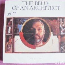 Discos de vinilo: LP - WIN MERTENS - THE BELLY OF AN ARCHITECT (SPAIN, GASA 1987). Lote 121744495
