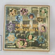 Discos de vinilo: CAJA 8 DISCOS LP DE VINILO - MÚSICA DE NOSTALGIA - RCA, AÑO 1978. Lote 121744530