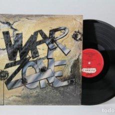 Discos de vinilo: DISCO LP DE VINILO - WARZONE - CAROLINE, AÑO 1989 - MADE IN USA. Lote 121748735