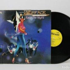Discos de vinilo: DISCO LP DE VINILO - RACE THE NIGHT / SURFACE - KILLERWATT, AÑO 1986 - MADE IN UK. Lote 121749971