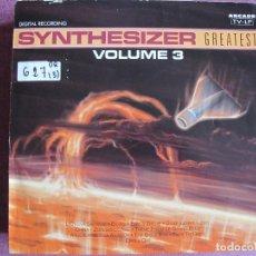 Discos de vinilo: LP - SYNTHESIZER GREATEST - VOL. 3 (HOLLAND, ARCADE RECORDS 1991). Lote 121750343