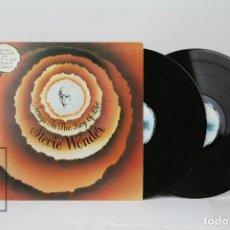 Discos de vinilo: DOBLE DISCO LP DE VINILO MAS EP Y LIBRETO - STEVIE WONDER / SONGS IN THE KEY OF LIVE - MOTOWN, 1979. Lote 121754975