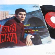 Discos de vinilo: CARLOS AMAYA - EP ACROPOL - DONDE. Lote 121758291