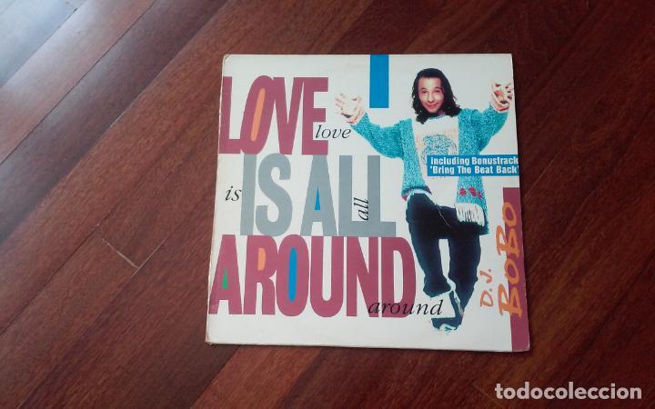 D J Bobo Love Is All Around Maxi España Sold Through Direct Sale 121762863