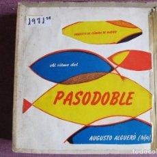 Discos de vinilo: LP - AUGUSTO ALGUERO (HIJO) - AL RITMO CEL PASODOBLE (SPAIN, DISCOS MONTILLA 1960). Lote 121768367