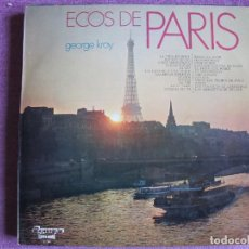 Discos de vinilo: LP - GEORGE KROY - ECOS DE PARIS (SPAIN, OLYMPO 1972). Lote 121773587