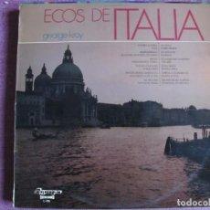 Discos de vinilo: LP - GEORGE KROY - ECOS DE ITALIA (SPAIN, OLYMPO 1974). Lote 121773679