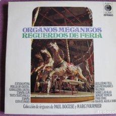 Discos de vinilo: LP - ORGANOS MECANICOS - RECUERDOS DE FERIA (SPAIN, DISCOS CLAVE 1975). Lote 121774371