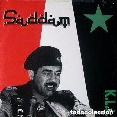 Discos de vinilo: K.L.J. SADDAM - 12' MAX MUSIC 1990, TECHNO, NEW BEAT . Lote 121774655