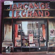 Discos de vinilo: LP - LARCANGE - PLAYS LEGRAND (SPAIN, DECCA 4 FASES 1976). Lote 121775399