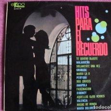 Discos de vinilo: LP - HITS PARA EL RECUERDO - ORQUESTA LATINO AMERICANA (SPAIN, DISCOS EKIPO 1968). Lote 121776479