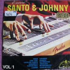Discos de vinilo: LP - SANTO AND JOHNNY - ENCORE (SPAIN, HISPAVOX 1966). Lote 121777679