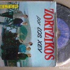 Discos de vinilo: LOS XEY - ZORTZIKOS - EP 1961 - BELTER. Lote 121784375