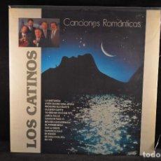 Discos de vinilo: LOS CATINOS - CANCIONES ROMANTICAS - LP. Lote 121788855