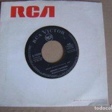 Discos de vinilo: ARMANDO MANZANERO - ESTA TARDE VI LLOVER + ADORO - SINGLE 1967 - RCA. Lote 121789671