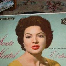 Discos de vinilo: SARITA MONTIEL. Lote 121791379