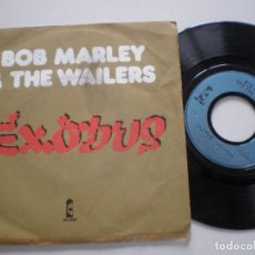 Discos de vinilo: BOB MARLEY & THE WAILERS - EXODUS +1 - SINGLE FRANCES ISLAND 1977. Lote 121791731