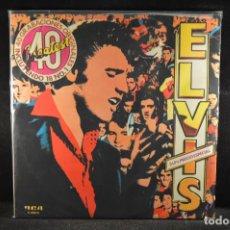 Discos de vinilo: ELVIS PRESLEY - 40 GRABACIONES ORIGINALES - 2 LP. Lote 121792687