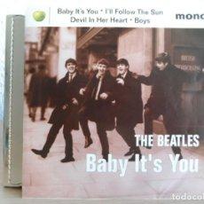 Discos de vinilo: ** THE BEATLES - BABY IT'S YOU / I'LL FOLLOW THE SUN / DEVIL IN HER HEART / BOYS - MONO. Lote 121793811