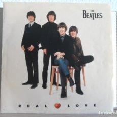 Discos de vinilo: ** THE BEATLES - REAL LOVE / BABY'S IN BLACK. Lote 121795115