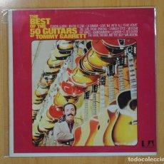 Discos de vinilo: THE 50 GUITARS OF TOMMY GARRETT - THE BEST OF - LP. Lote 121795534