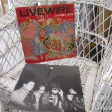 Discos de vinilo: LIVE WIRE– CHANGES MADE.LP EDICION HOLANDA 1981.NEW WAVE/PUB ROCK. Lote 121796863