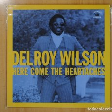 Discos de vinilo: DELROY WILSON - HERE COME THE HEARTACHES - LP. Lote 121797008