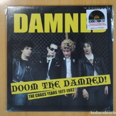 Discos de vinilo: THE DAMNED - DOOM THE DAMNED (THE CHAOS YEARS 1977-1982) - LP. Lote 121797110