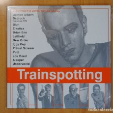 Discos de vinilo: VARIOS - TRAINSPOTTING (MUSIC FROM THE MOTION PICTURE) - 2 LP. Lote 121797760